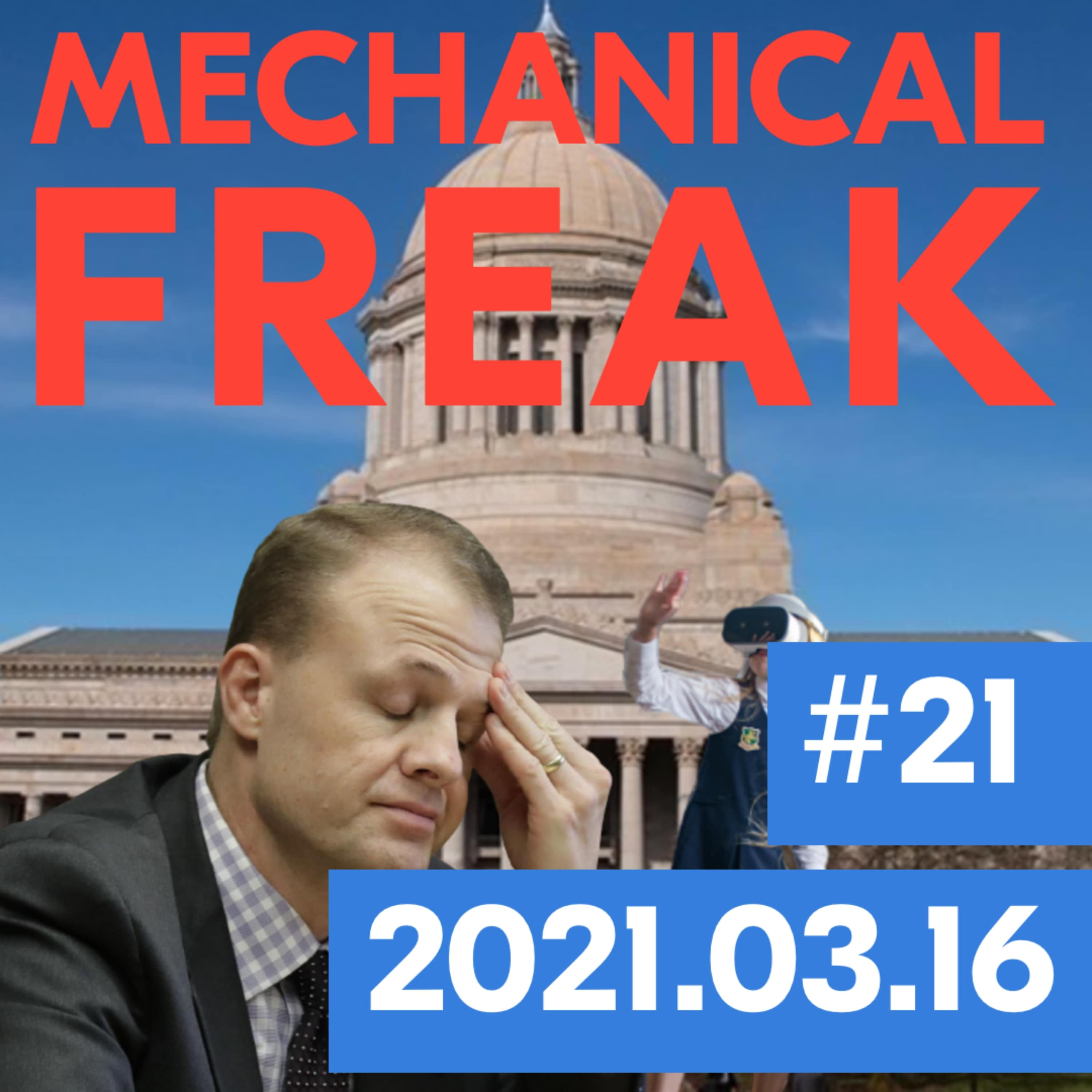 Episode #mechanical-freak-21 cover