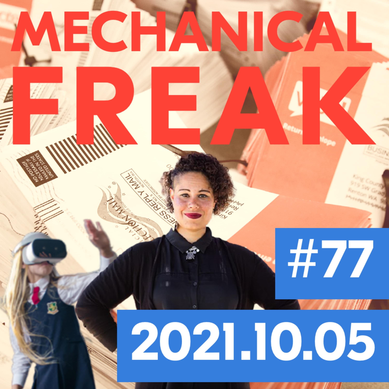 Episode #mechanical-freak-77 cover