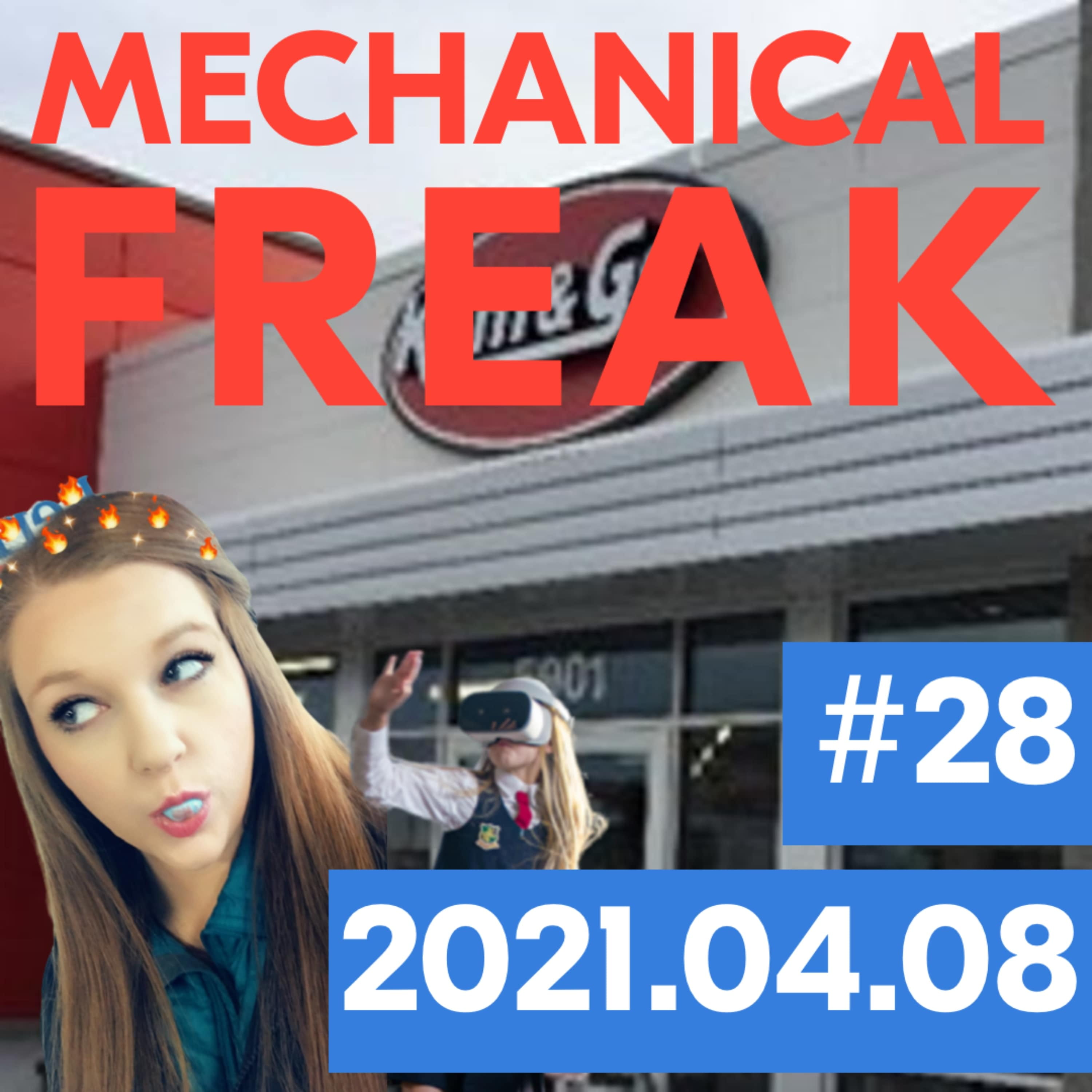 Episode #mechanical-freak-28 cover